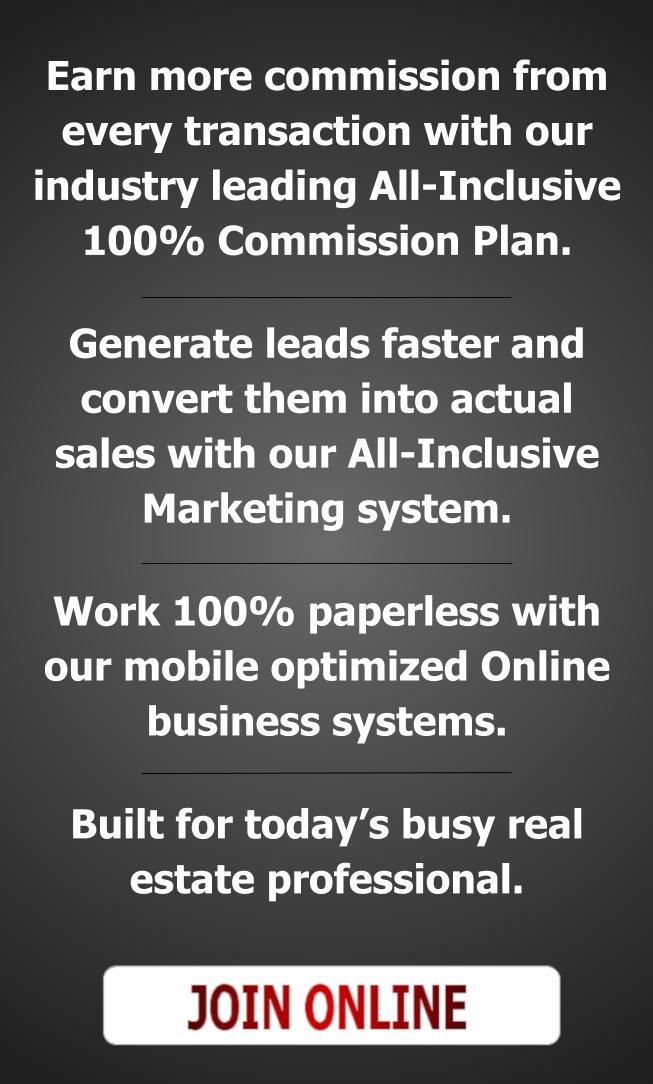 100% commission broker